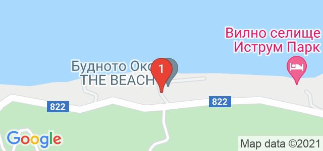 Комплекс Будното Око The Beach Карта