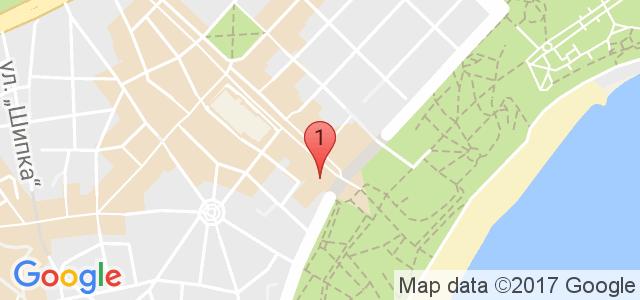 Ресторант Варна Карта