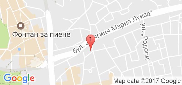 Оздравително възстановителен център Карта