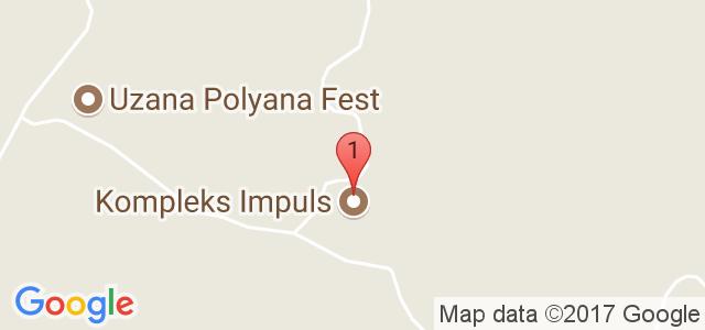 Хотел Импулс 3* Карта