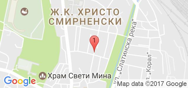 Салон за красота Персефона Карта