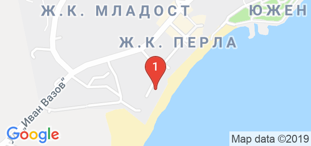 Хотел Афродита Карта