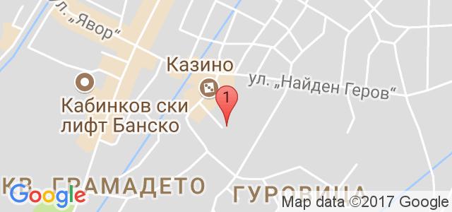 Хотел Елегант Лукс 3* Карта