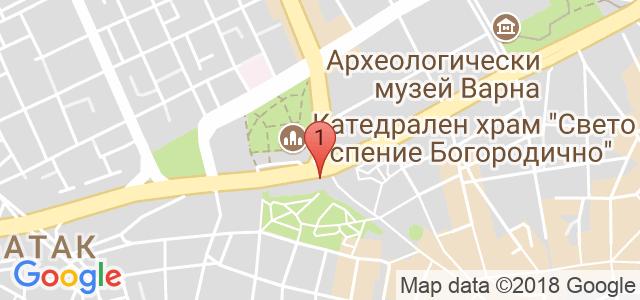 Ресторант Каприз  Карта