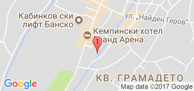 Хотел Каза Карина 4* Карта