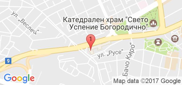 """школа по танци """"Алма Либре"""" Карта"""
