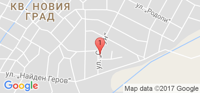 Хотел Шато Вапцаров Карта