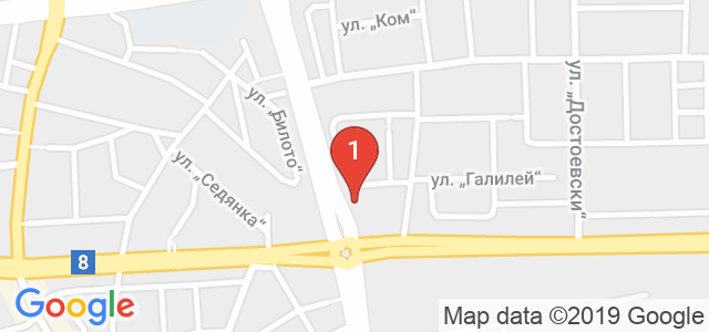 Студио за красота АНДИ Карта