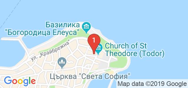 Хотел Кириос  Карта