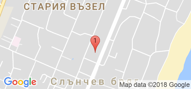 Хотел Диамант 4* Карта