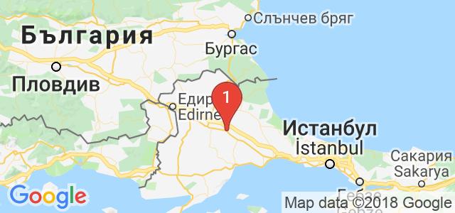 Дениз Tравел Карта