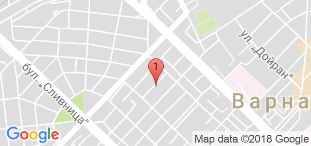 Студио за красота Sense Карта