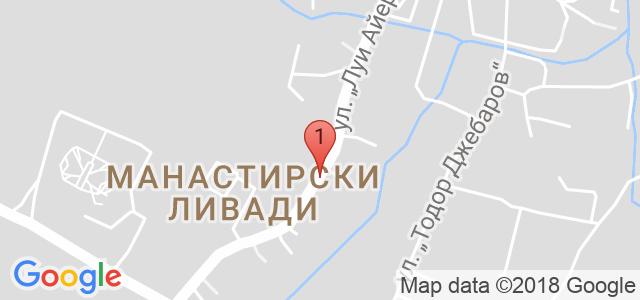 Автоцентър BGreen Карта