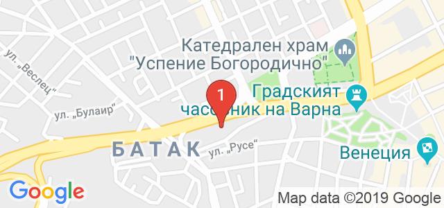 Kremena Dance Center Карта