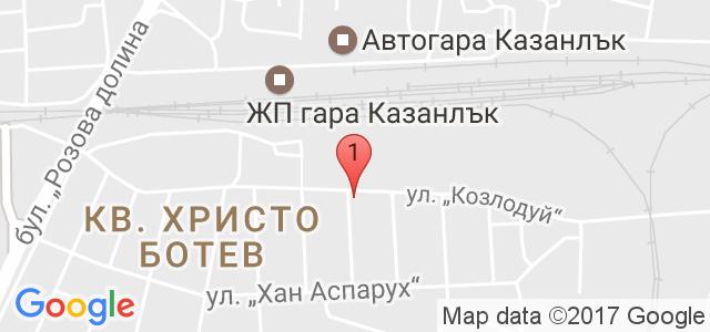 ПСИХОЛОГ- КОНСУЛТАНТ НАДЕЖДА СТОЯНОВА Карта