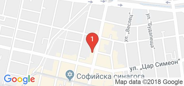 Дентален кабинет DentaLuX Карта