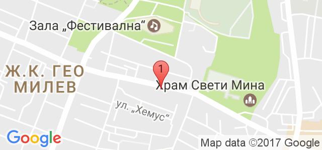 Мобилен сервиз за компютри Карта