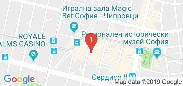 Хотел Света София Карта