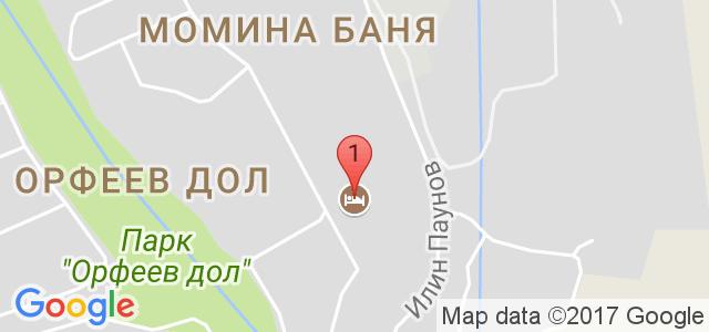 СПА хотел Хисар 4* Карта