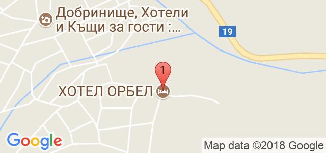 Хотел Орбел 4* Карта