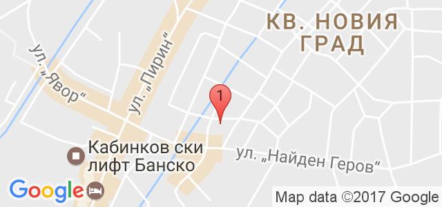 Хотел Грами Карта
