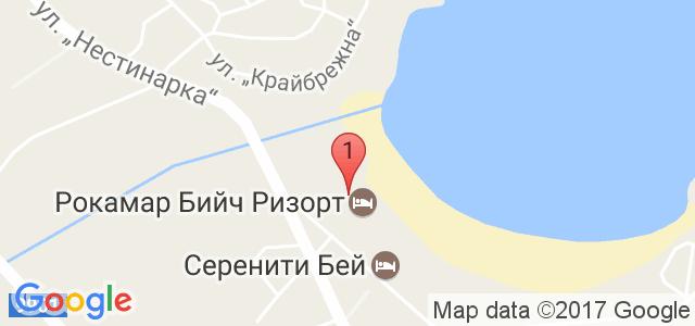 PRIMEA BEACH Residence 3* Карта