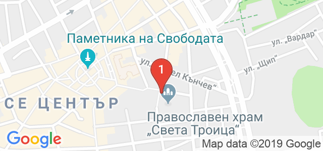 Държавна опера - Русе Карта