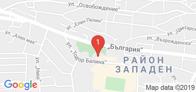 Парк Хотел Ивайло Карта