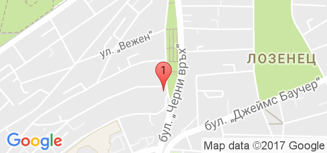 Естетичен център Дерма Лайн Карта