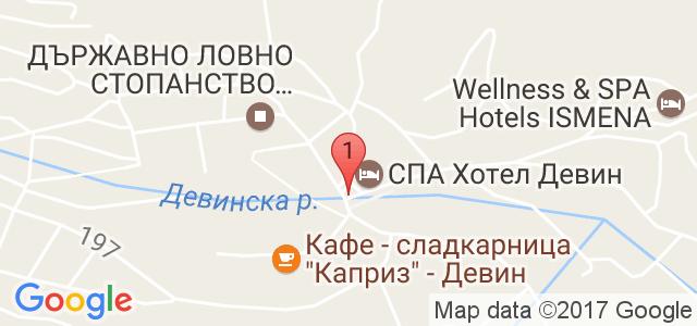 Хотел Елит 3* Карта