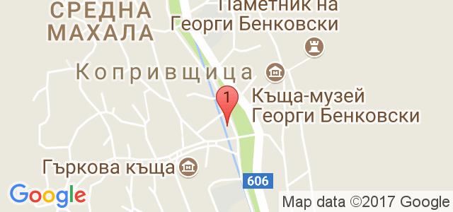 Семеен хотел Калина 3* Карта