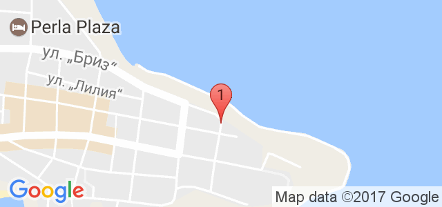 Хотел Лазур  Карта