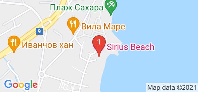 Хотел Сириус Бийч Карта