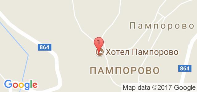 Хотел Пампорово 5* Карта