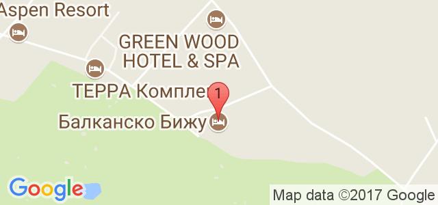 Хотел Балканско Бижу Карта