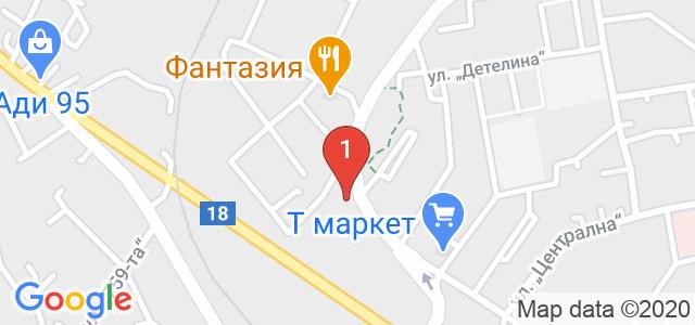 Автосервиз Hogwarts Карта