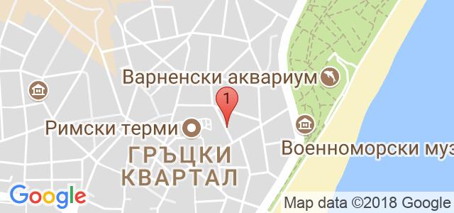 Фризьорски Салон Creative Карта