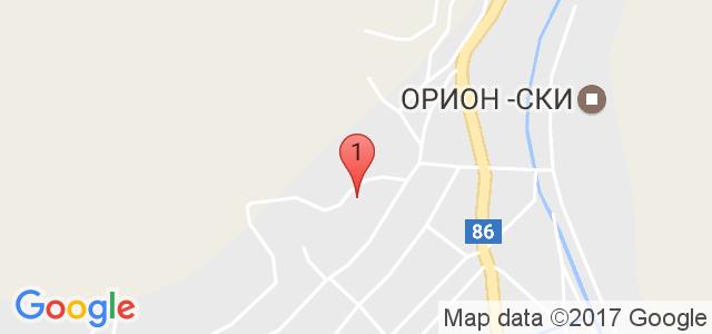 Хотел Родопски дом 4* Карта