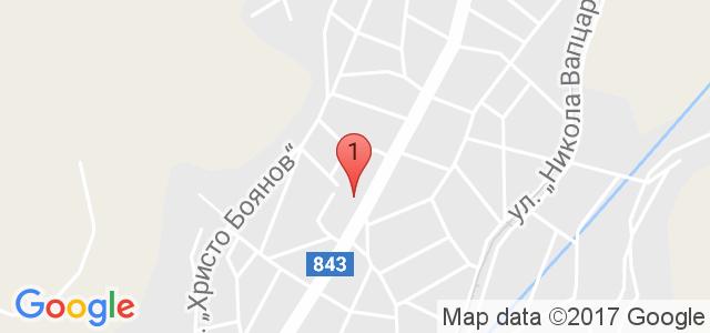 Хотел България 3* Карта