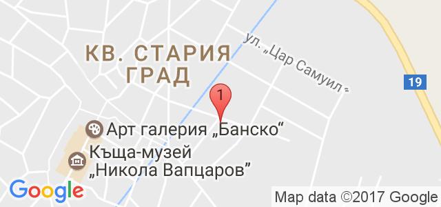 Хотел Ротманс 3* Карта