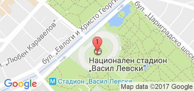 Боен клуб Левски-София Карта