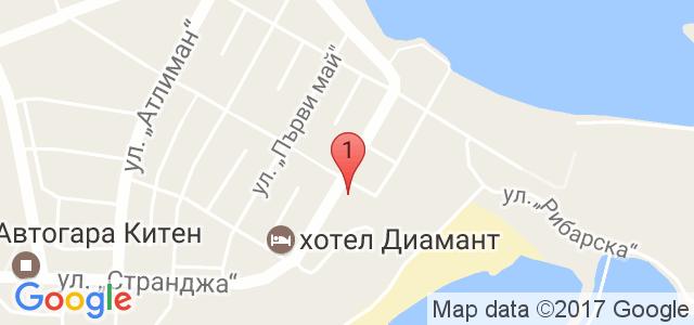 Хотел Радис Карта