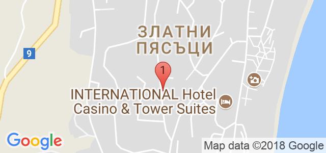 COOEE Mimosa Sunshine Hotel Карта