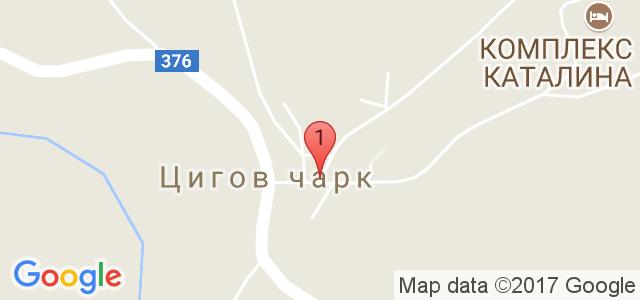 Вилно селище Уют Карта