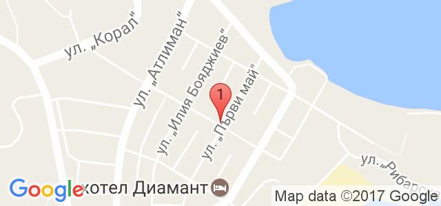 Семеен хотел Русалка Карта