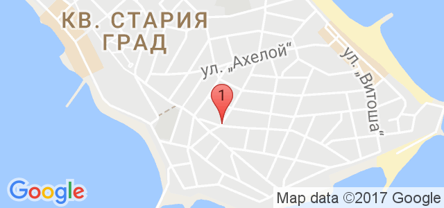 Къща за гости Христови Карта