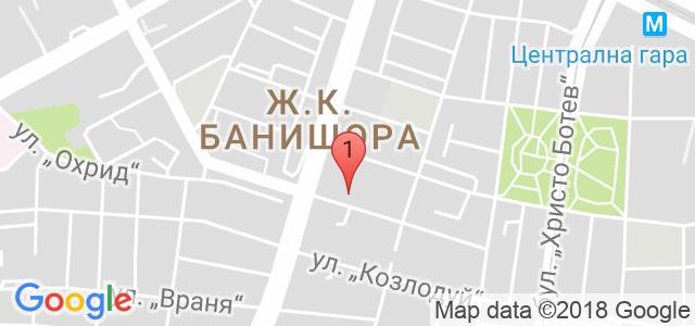Студио Сахара - Банишора Карта