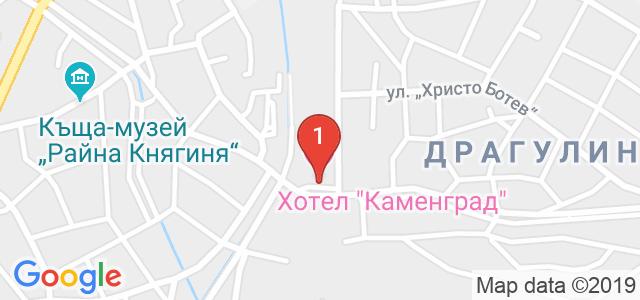 Каменград Хотел и Спа  Карта
