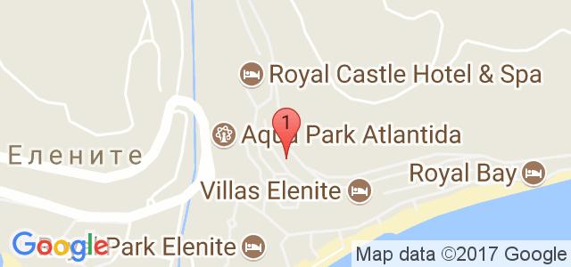 Хотел Роял Касъл 5* Карта