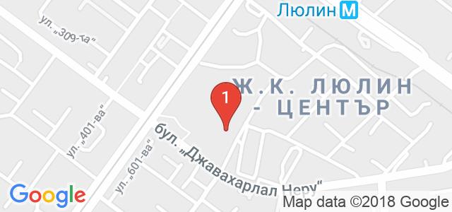 Комплекс Люлин Бийч - РестАРТ Карта